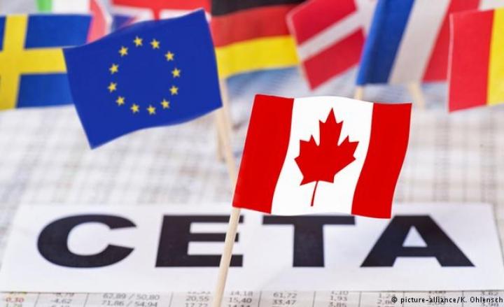 Accordo Ceta svende made in Italy, migliaia a Montecitorio