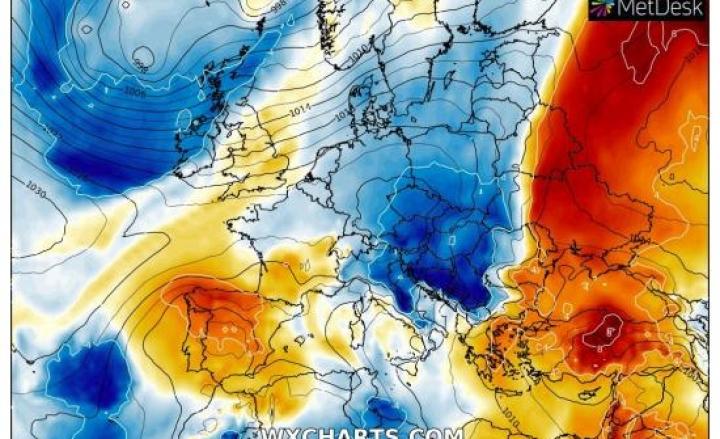 Nuovo Bollettino Giallo per la giornata del 28 agosto, possibili temporali previsioni