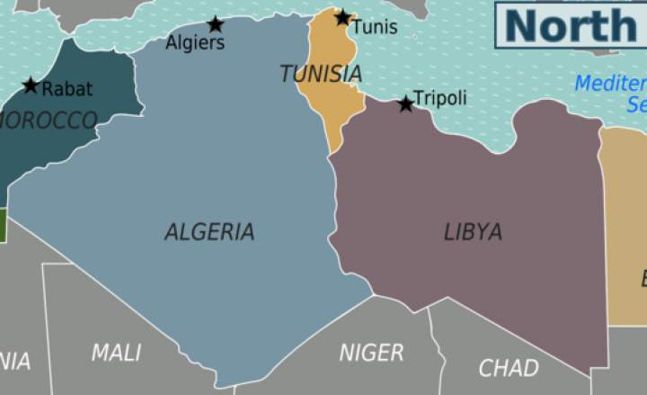 hghg800px North Africa regions map