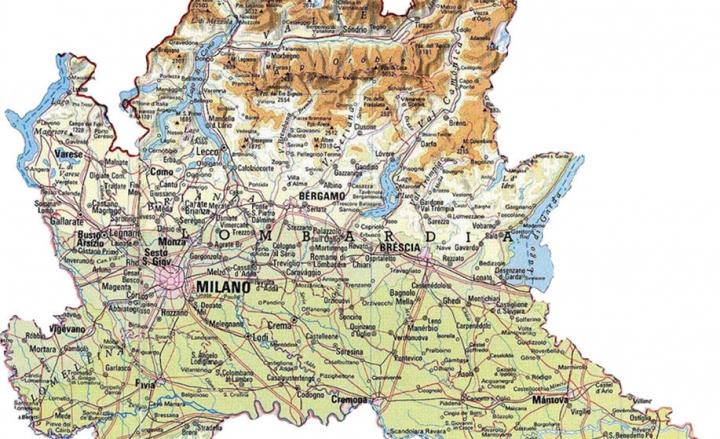 Cartina Geografica Lombardia Dettagliata.Valtellina News Notizie Da Sondrio E Provincia Editoriale La
